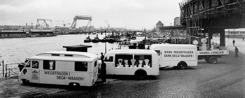 seca scales delivery vans